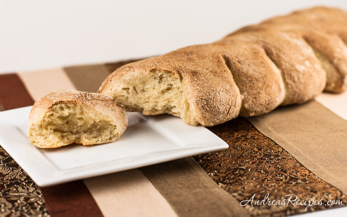 Andrea's Recipes - Crusty Cornstalk Rolls