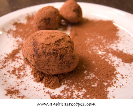 Earl Grey Truffles, from The Sweet Melissa Baking Book