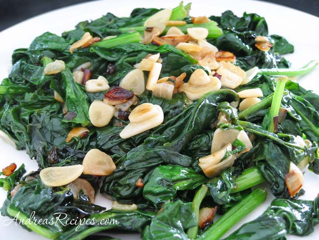 Andrea's Recipes - Sauteed Spinach