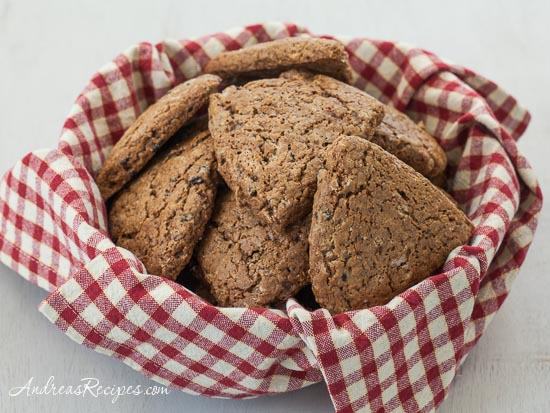 Gingerbread Scones - Andrea Meyers