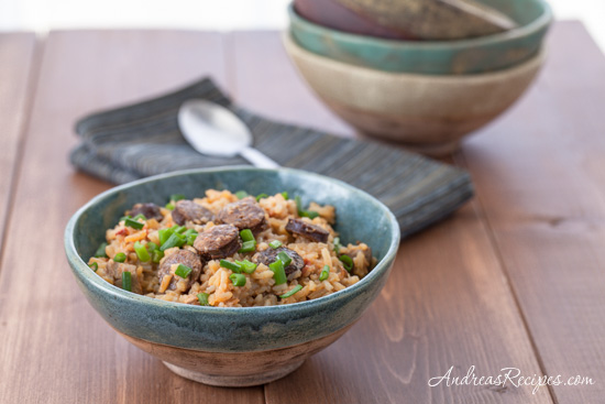 Andrea Meyers - Slow-Cooker Chicken and Andouille Jambalaya