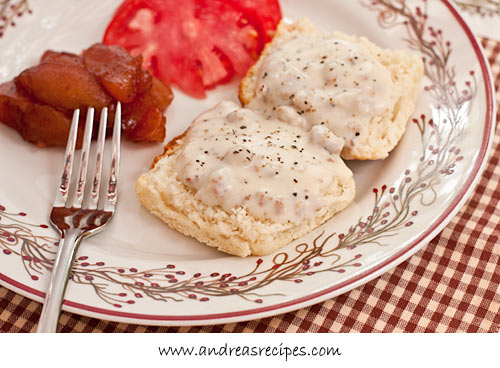 Andrea Meyers - Southern Sausage Gravy