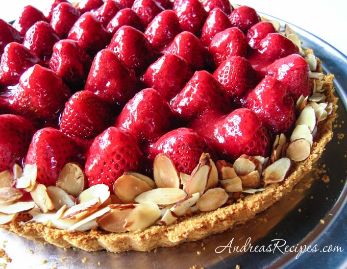 Andrea's Recipes - Strawberry Cream Tart