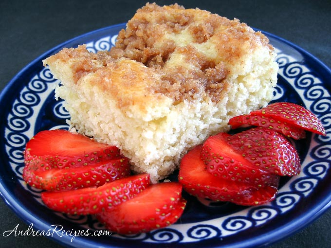 Sugar-Topped Coffee Cake - Andrea Meyers