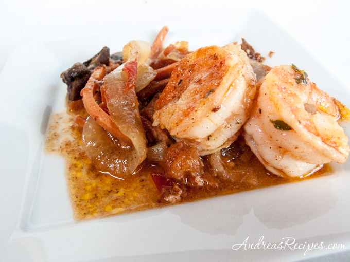 Andrea's Recipes - Shrimp and Mushroom Tapa
