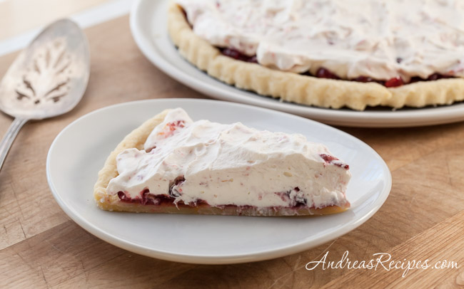 Orange Cranberry Fool Tart - Andrea Meyers