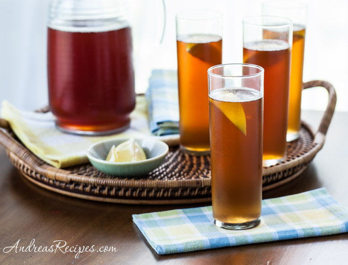 Andrea's Recipes - Sweet Iced Tea