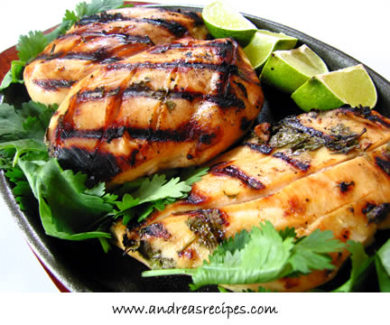 Andrea's Recipes - Tequila Lime Chicken