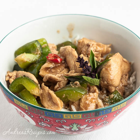 Andrea Meyers - Thai Basil Chicken (Kai Kraphao)