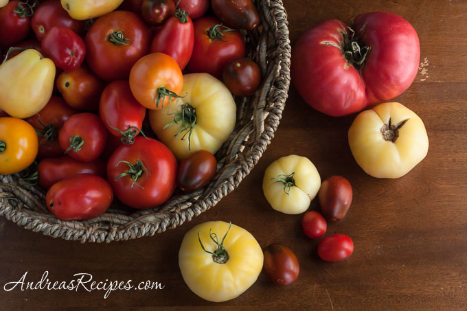 Andrea Meyers - Fresh Picked Tomatoes