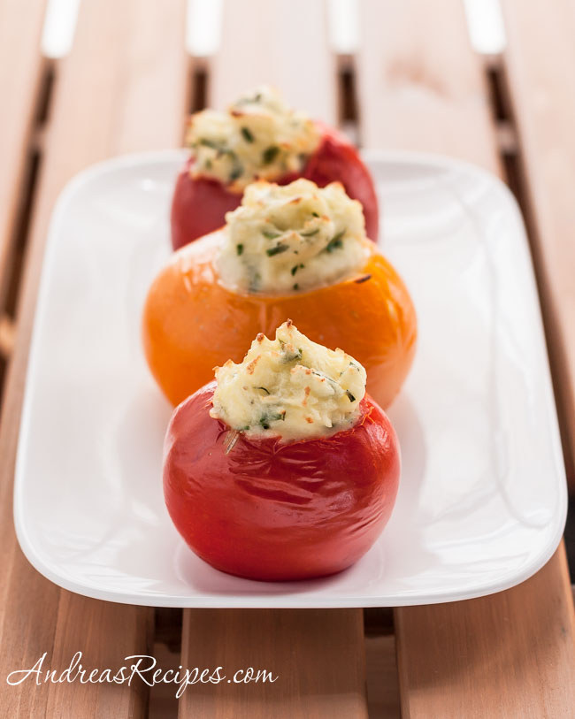 Andrea Meyers - Mashed Potato-Stuffed Tomatoes