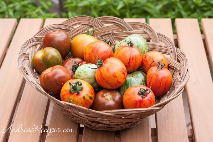 Andrea Meyers - Zebra tomatoes