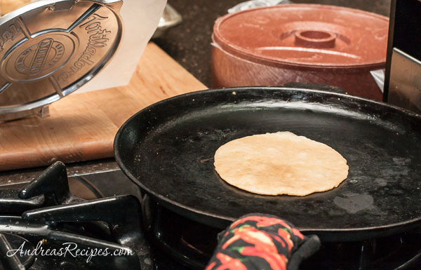 Andrea Meyers - Cook, Whole Wheat Tortillas.