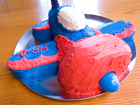 Andrea Meyers - Airplane Birthday Cake