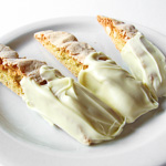 Andrea's Recipes - White Chocolate Macadamia Nut Biscotti with Orange