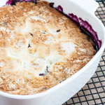 Blueberry Pudding Cake - Andrea Meyers