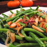 Andrea's Recipes - Browned Butter Green Beans with Almonds