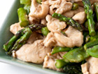 Andrea Meyers - Chicken Stir-Fry with Asparagus and Snow Peas