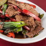 Andrea Meyers - Beef and Bell Pepper with Black Bean Sauce