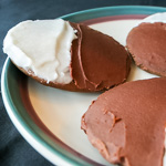 Andrea's Recipes - Chocolate Half Moon Cookies