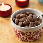 Cocoa-Dusted Almonds - Andrea Meyers