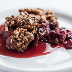 Andrea's Recipes - Cranberry Apple Raisin Crisp
