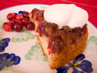 Andrea Meyers - Cranberry Orange Upside-Down Cake