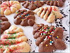Andrea Meyers - Cream Cheese Spritz Cookies