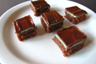 Andrea's Recipes - Creme de Menthe Bars