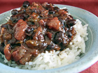 Andrea Meyers - Slow Cooker Cuban-Style Black Beans with Rice