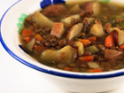 Andrea's Recipes - Curried Lentil and Potato Stew