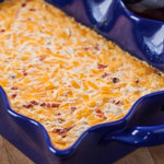 Baked Pimiento Cheese Crab Dip - Andrea Meyers