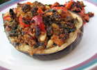 Andrea's Recipes - Grilled Stuffed Eggplant