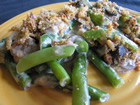 Andrea Meyers - Green Bean Casserole with Three Mushrooms