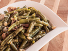Andrea Meyers - French Green Beans with Prosciutto and Pine Nuts