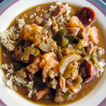 Andrea's Recipes - Empty the Freezer Gumbo