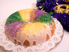 Andrea Meyers - Mardi Gras King Cake