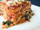 Lasagna with Spinach and Basil