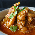 Andrea's Recipes - Moroccan-Style Chicken and Red Lentils