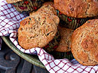 Andrea Meyers - Whole Wheat Zucchini Muffins with Greek Yogurt