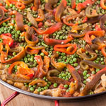 Vegetable Paella - Andrea Meyers