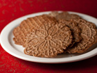 Andrea Meyers - Chocolate Pizzelles