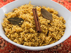 Andrea Meyers - Indian Savory Yellow Rice (The Kids Cook Monday)