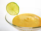 Andrea's Recipes - Frozen Mango Dessert