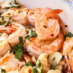 Andrea Meyers - Shrimp in Garlic Tapa