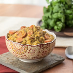 From the Pantry: Thai Yellow Curry Paste (Slow Cooker Sweet Potato, Cauliflower, and Broccoli Curry) - Andrea Meyers