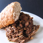 Andrea Meyers - Slow-Cooker Pulled Pork with Chipotle BBQ Sauce