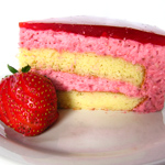 Andrea Meyers - Strawberry Mirror Cake