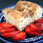 Andrea Meyers - Sugar Topped Coffee Cake