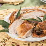 Sage-Roasted Turkey Breast - Andrea Meyers